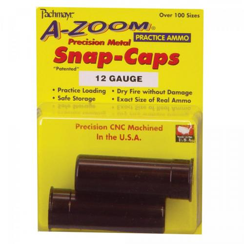 A-Zoom Snap Caps 12 Ga 2Pk photo