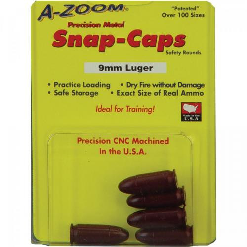 A-Zoom Snap Caps 9mm Luger/5 Pack photo