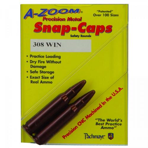 A-Zoom Snap Caps 308 Win/2 Pack photo