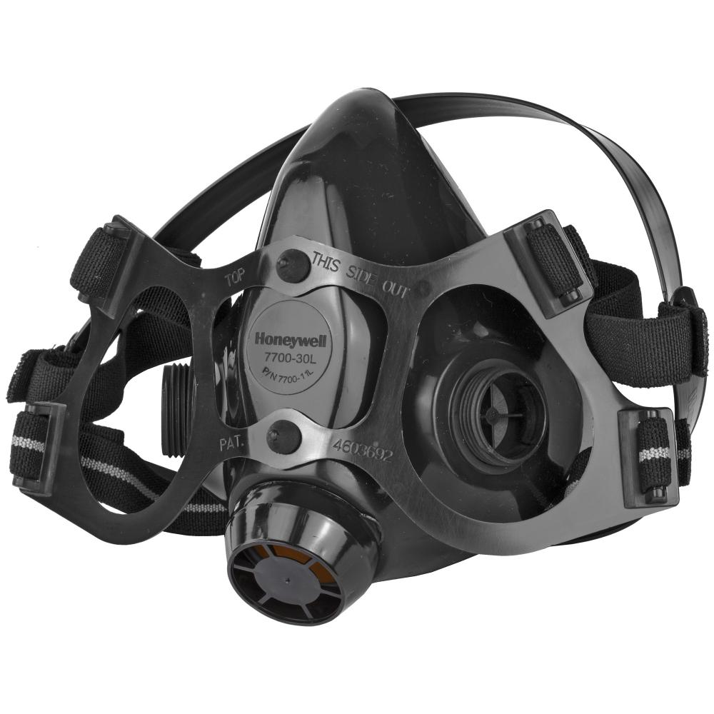 Honeywell Safety North Half Mask Silcone M 4Shooters