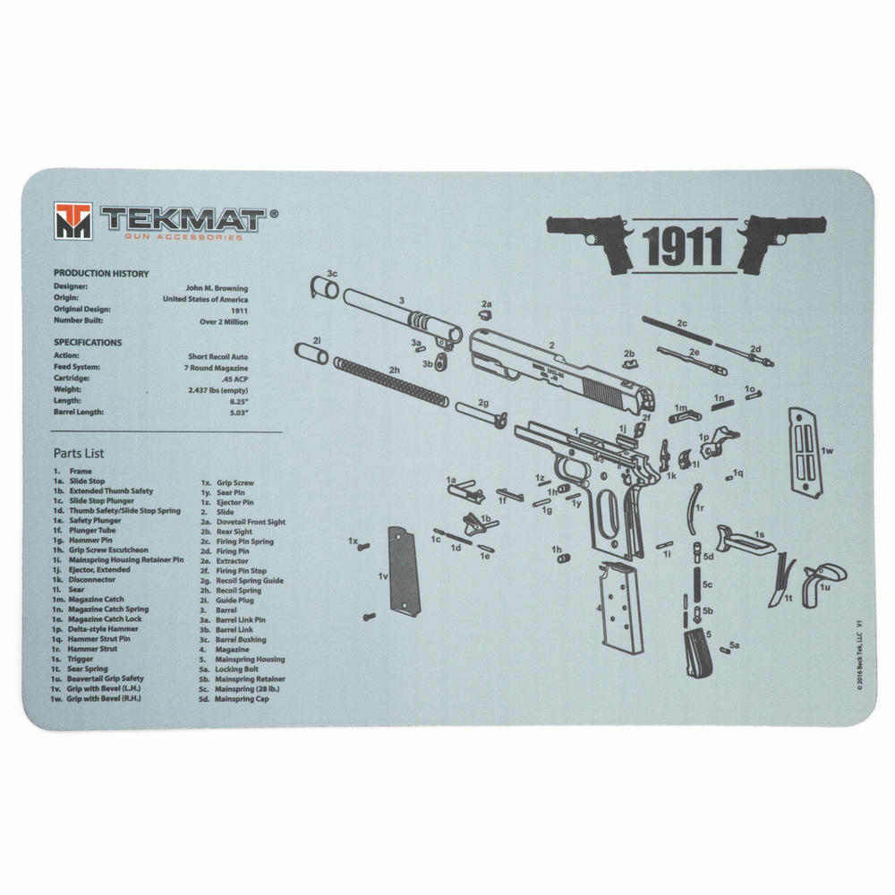 Tekmat 4range Ruger Lcp Extractor Exploded View Diagram